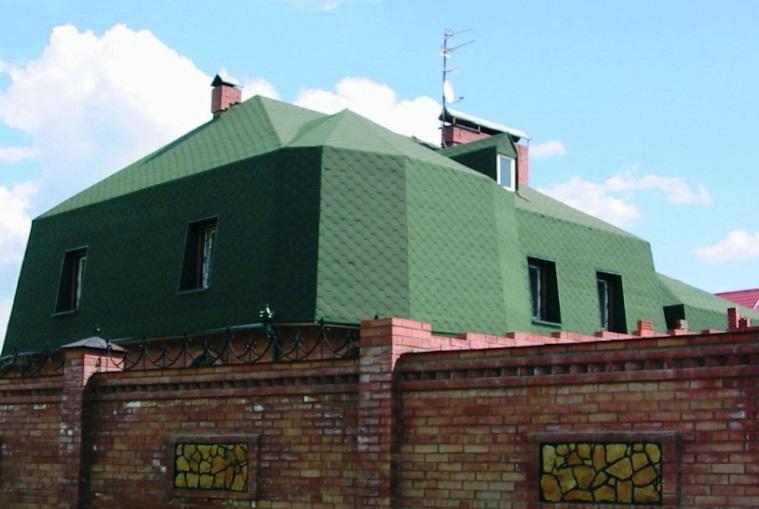 Шинглас Зеленая
