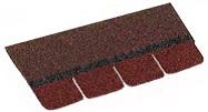 Форма кровельного гонта